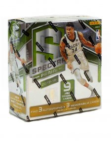 2017/18 Panini NBA Basketball Spectra Hobby Box