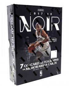 2017/18 Panini NBA Basketball Noir Hobby Box