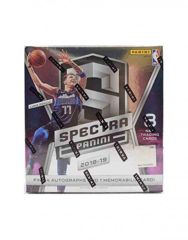 2018-19 Panini NBA Basketball Spectra Hobby Box