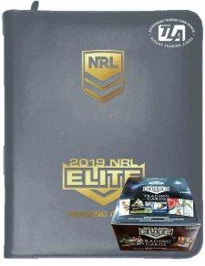 2019 TLA NRL Elite Sealed Box and Album Combo