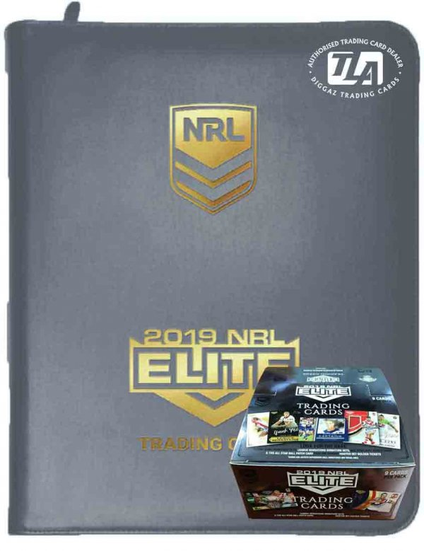 2019 TLA NRL Elite Sealed Box and Album Combo