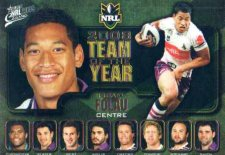 2009 NRL Classic Team of the Year TY3 Israel Folou Storm