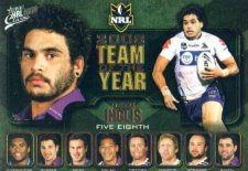 2009 NRL Classic Team of the Year TY4 Greg Inglis Storm
