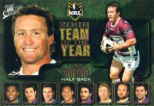 2009 NRL Classic Team of the Year TY5 Matt Orford Sea Eagles