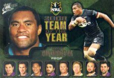 2009 NRL Classic Team of the Year TY8 Petero Civoniceva Panthers