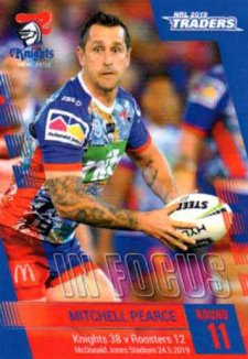 2019 NRL Traders Player in Focus Round 10 IF11 Mitchell Pearce Knights