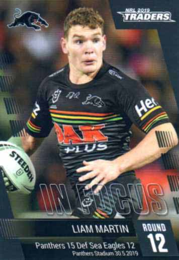 2019 NRL Traders Player in Focus Round 12 IF12 Liam Martin Panthers