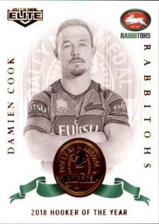 2019 NRL Elite Dally M Awards DM10 Damien Cook Rabbitohs