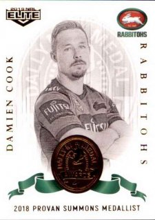 2019 NRL Elite Dally M Awards DM16 Damien Cook Rabbitohs