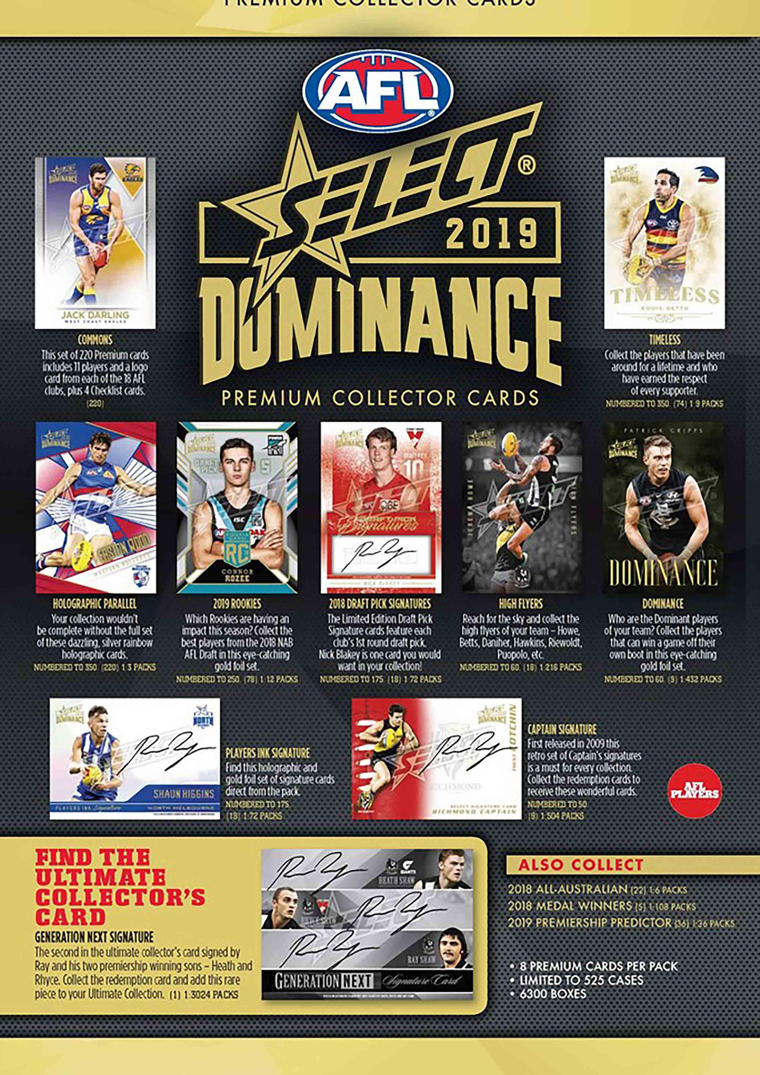 2019 AFL Dominance Sales Flyer