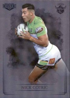2019 NRL Elite Special Silver Parallel SS11 Nick Cotric Raiders