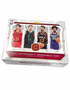 2018-19 Panini NBA Basketball Cornerstones Hobby Box