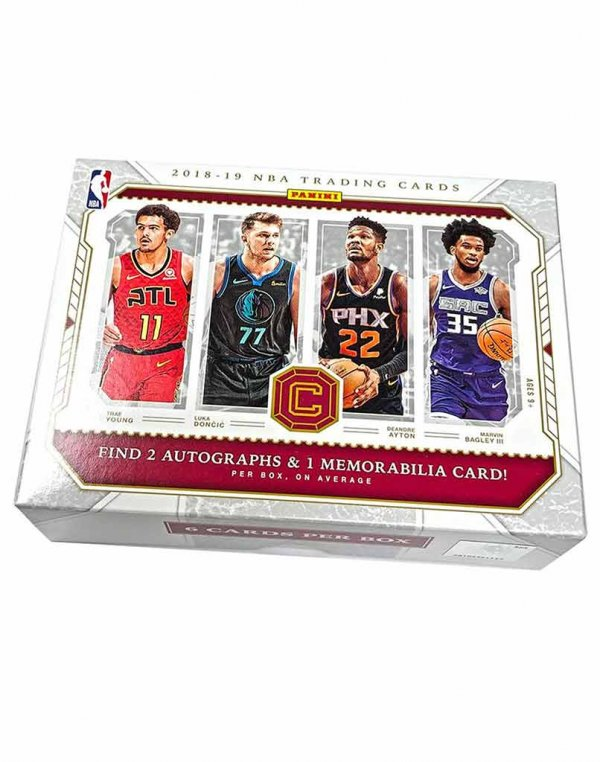 2018-19 Panini NBA Basketball Cornerstones Hobby Box