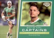 2019 NRL Elite 2019 Captains CC2 Jarrod Croker Raiders