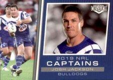 2019 NRL Elite 2019 Captains CC3 Josh Jackson Bulldogs