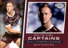 2019 NRL Elite 2019 Captains CC6 Daly Cherry-Evans Sea Eagles