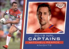 2019 NRL Elite 2019 Captains CC8 Mitchell Pearce Knights