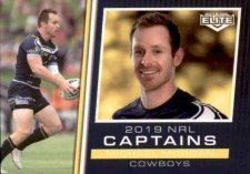 2019 NRL Elite 2019 Captains CC9 Michael Morgan Cowboys