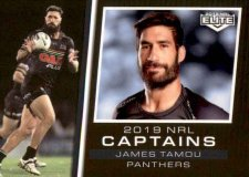 2019 NRL Elite 2019 Captains CC11 James Tamou Panthers
