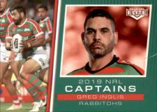 2019 NRL Elite 2019 Captains CC12 Greg Inglis Rabbitohs