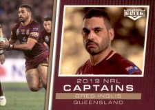 2019 NRL Elite 2019 Captains CC18 Greg Inglis QLD
