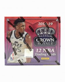 2018-19 Panini NBA Basketball Crown Royale Hobby Box