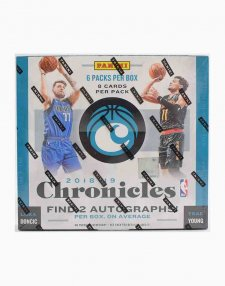 2018-19 Panini NBA Basketball Chronicles Hobby Box