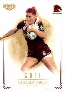 2019 NRL Elite WNRL WNRL3 Chelsea Baker Broncos