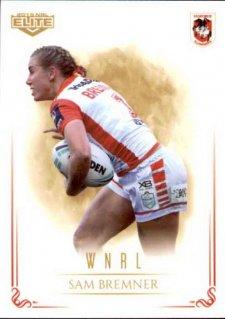 2019 NRL Elite WNRL WNRL6 Sam Bremner Dragons