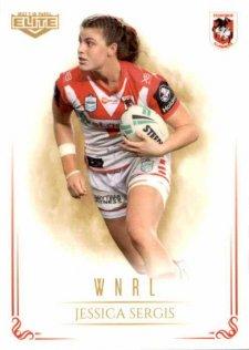 2019 NRL Elite WNRL WNRL8 Jessica Sergis Dragons