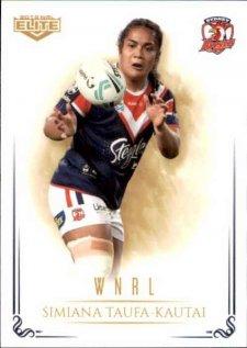 2019 NRL Elite WNRL WNRL12 Simiana Taufa Roosters