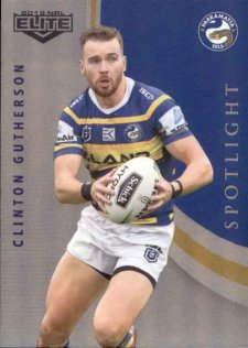 2019 NRL Elite Spotlight SP11 Clint Gutherson Eels
