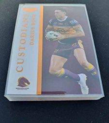 2019 NRL Elite Custodians Complete 16-Card Insert Set