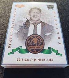 2019 NRL Elite Dally M Awards Complete 18-Card Insert Set