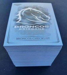 2019 NRL Elite Special Silver Parallel Complete 144-Card Inserts Set