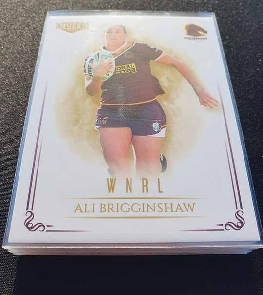 2019 NRL Elite WNRL Complete 16-Card Insert Set