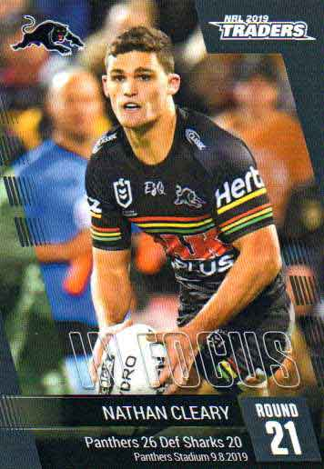 2019 NRL Traders Player in Focus Round 21 IF21 Nathan Cleary Panthers