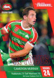 2019 NRL Traders Player in Focus Round 24 IF24 Cameron Murray Rabbitohs