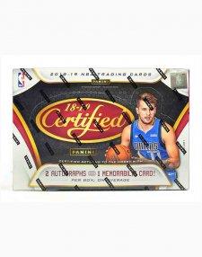 2018-19 Panini NBA Basketball Certified Hobby Box