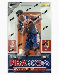 2019-20 Panini NBA Basketball Hoops Hobby Box