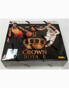 2017-18 Panini NBA Basketball Crown Royale Hobby Box