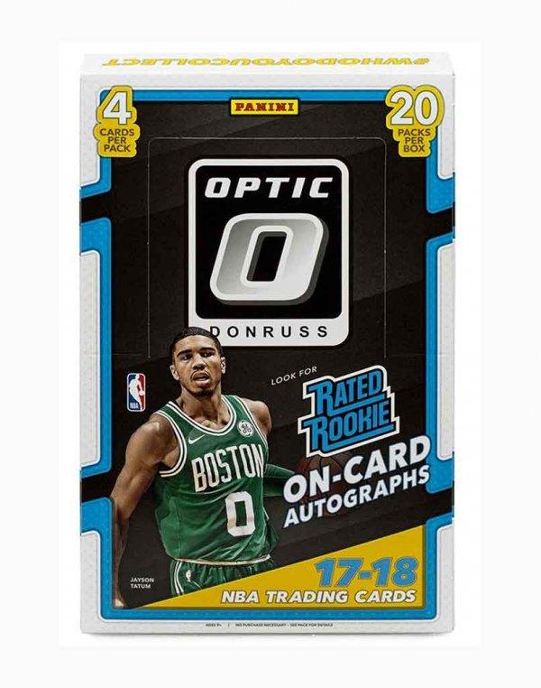 2017-18 Panini NBA Basketball Donruss Optic Hobby Box