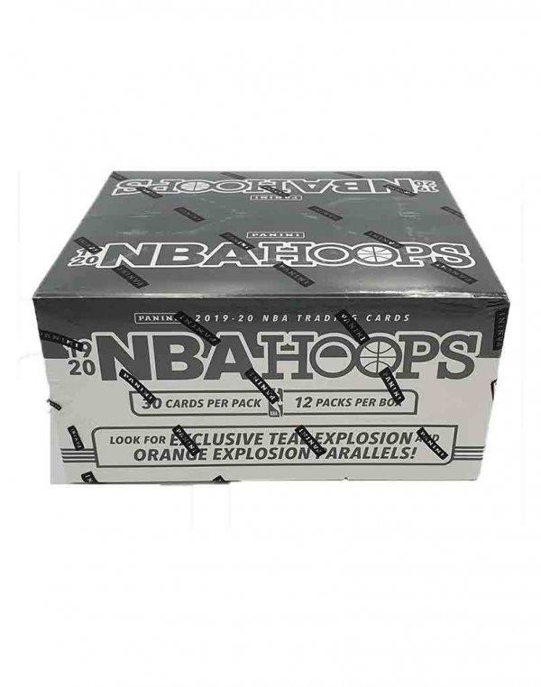2019-20 Panini NBA Basketball Hoops Fat Pack Box