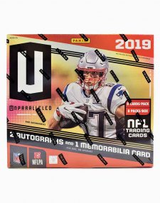 2019 Panini NFL Football Unparalleled Hobby Box