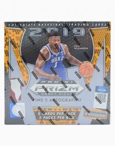 2019-20 Panini Prizm Draft Picks Collegiate Basketball Hobby Box