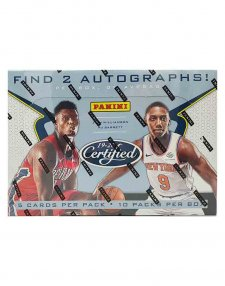 2019-20 Panini NBA Basketball Certified Hobby Box