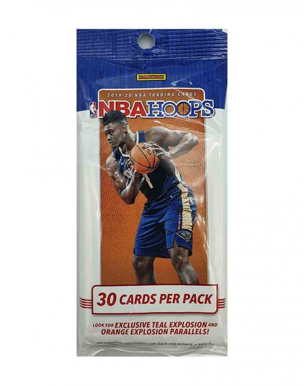 2019-20 Panini NBA Basketball Hoops Fat Pack