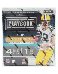 2019 Panini NFL Football Playbook Hobby Box