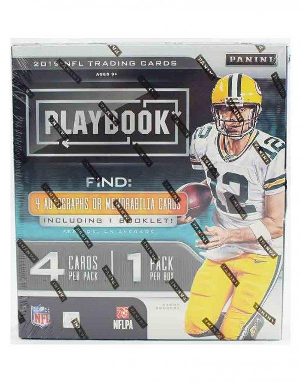 2019 Panini NFL Football Playbook Hobby Box