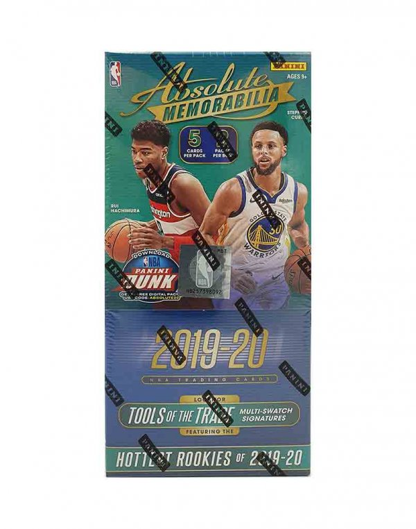 2019-20 Panini NBA Basketball Absolute Memorabilia Hobby Box